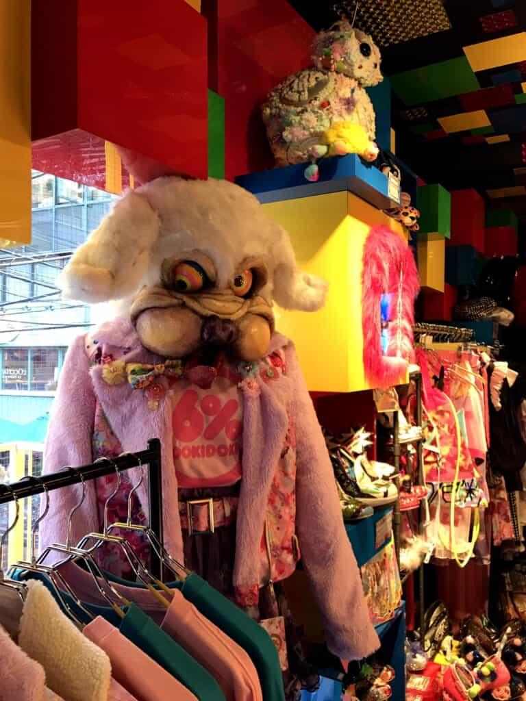 6%DOKIDOKI: Ausgefallene Accessoires der Kawaii-Kultur in Harajuku.