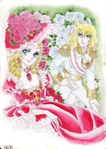 """Der Manga """"Die Rose von Versailles"""" von Ryoko Ikeda."""