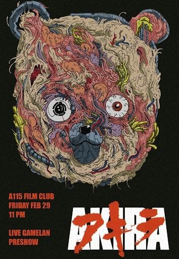 """""""Akira""""-Werbeposter von Katsuhiro Otomo."""