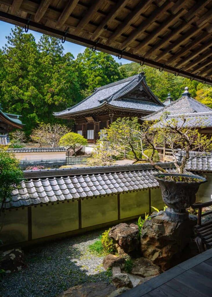 Der Zen-Buddhismus im Hoko-ji Tempel.