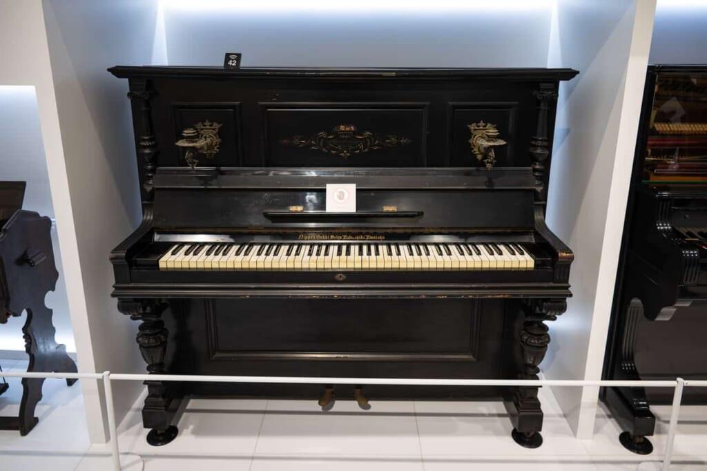 Klavier von Yamaha.