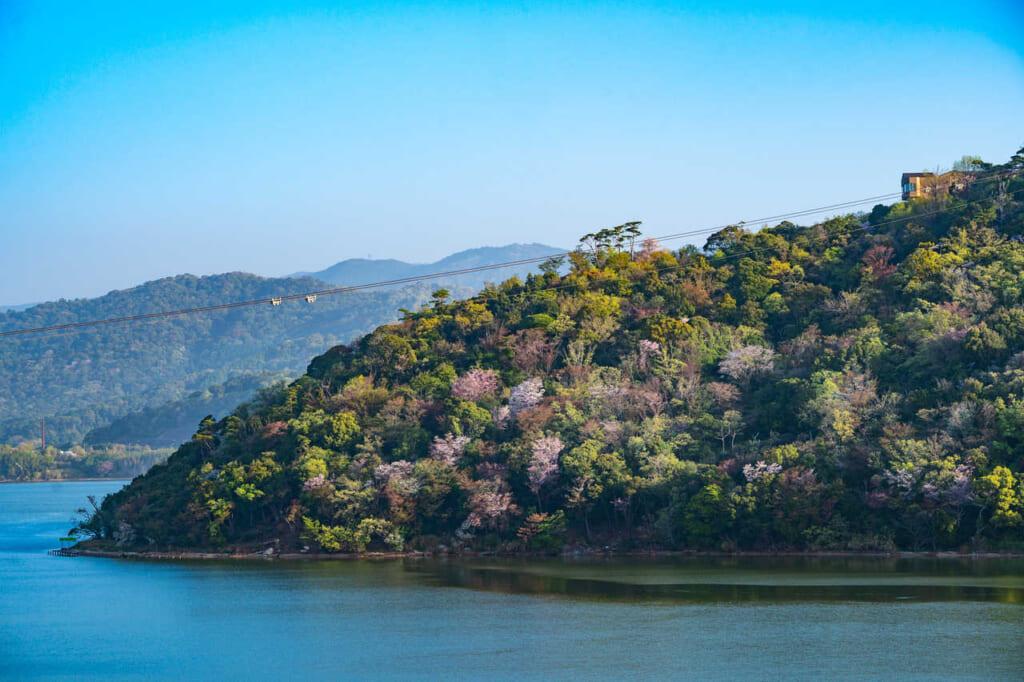 Der Hamana-See in Hamamatsu.