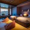 Familienzimmer im Hoshino Resorts KAI Enshu.