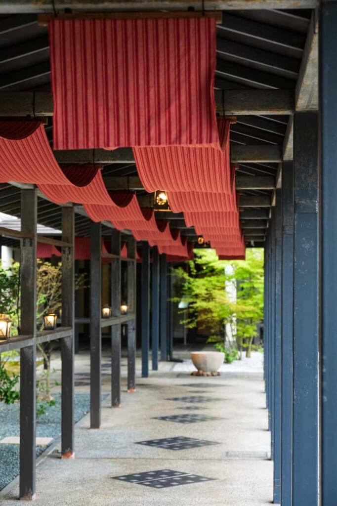 Außenbereich vom KAI Enshu.