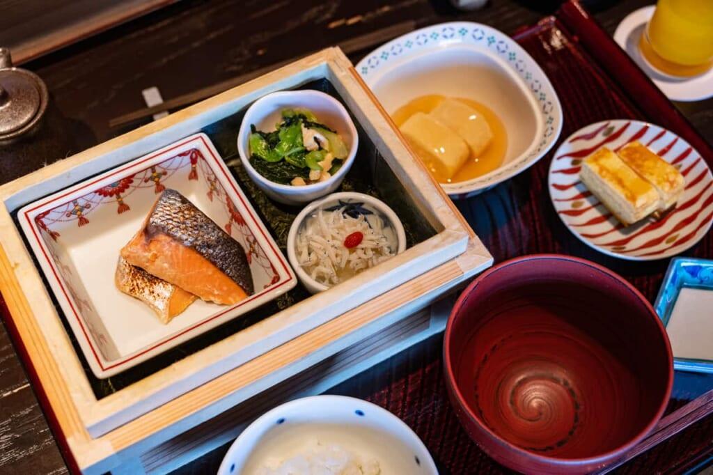 Das Menü im KAI Enshu in Hamamatsu.