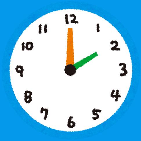 Die japanische Uhr steht ganzjährig auf Winterzeit.