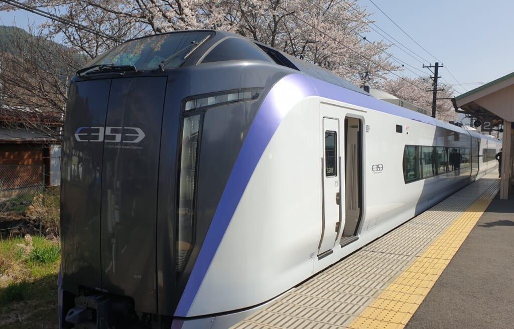 Tokyo Wide Pass: Expresszug nach Kawaguchiko.