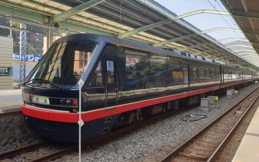 Tokyo Wide Pass: Sonderzug zwischen Atami und Shimoda.