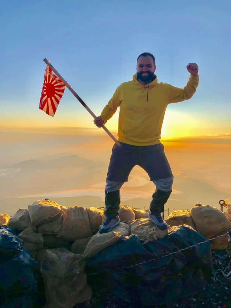 Besteigung des Fuji: Der erfolgreiche Aufstieg auf den Berg Fuji in Japan.