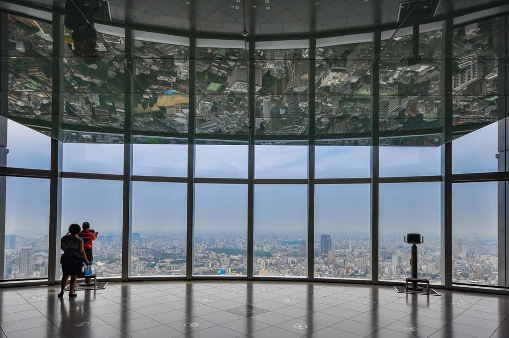 Aussichtsplattform in Roppongi Hills