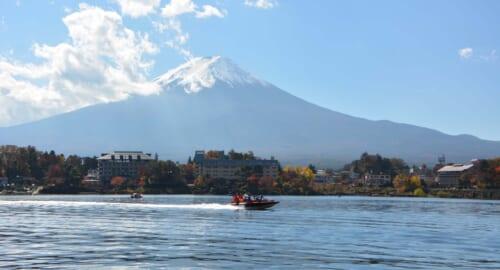 Tagesausflüge von Tokio: Ein Ausflug zum Kawaguchiko und dem Berg Fuji mit JR Tokyo Wide Pass