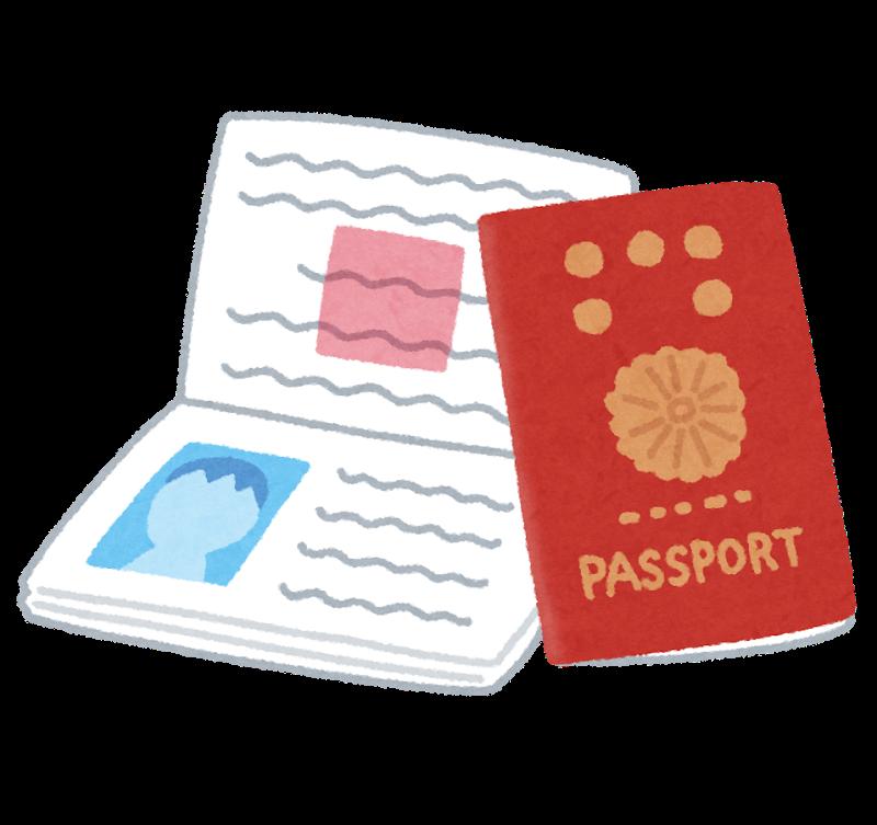 Der japanische Reisepass.