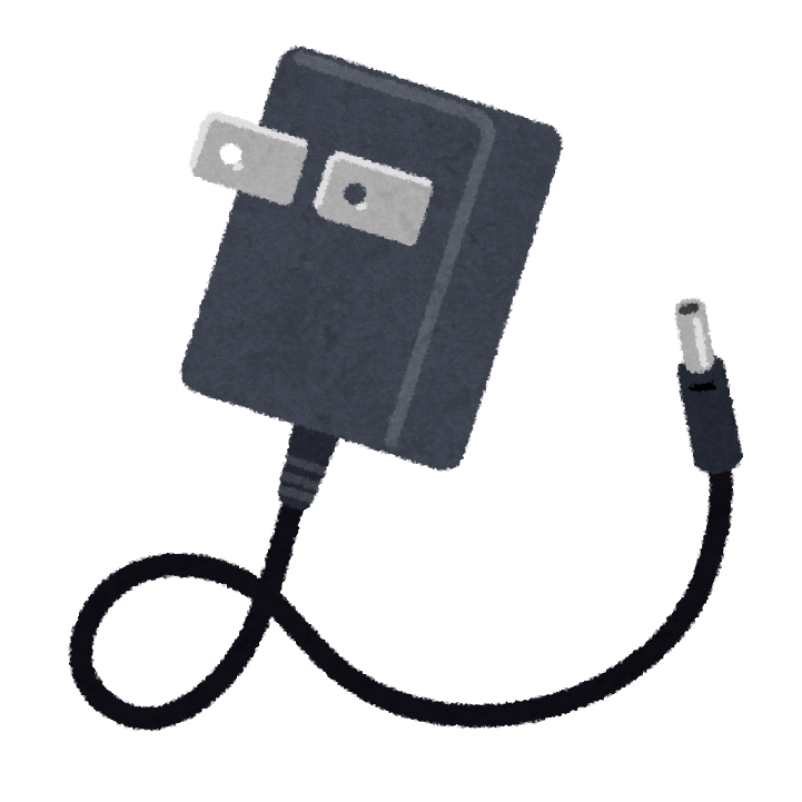 Adapter für das Ladekabel in Japan.