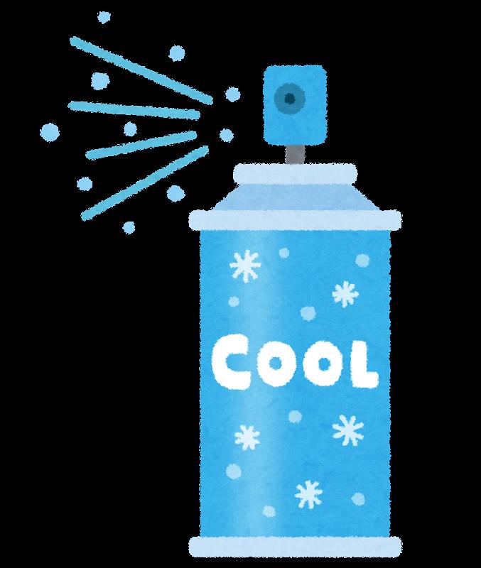 Kühlspray aus Japan.