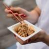 Die fermentierten Sojabohnen gelten als Superfood.