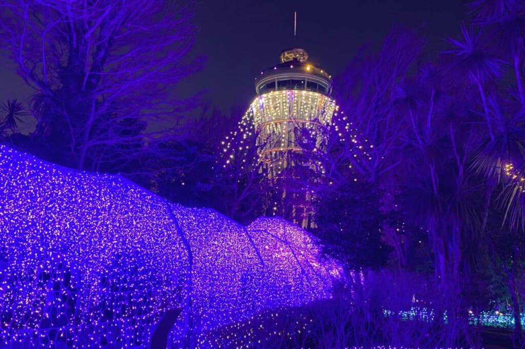Luminarie a Enoshima