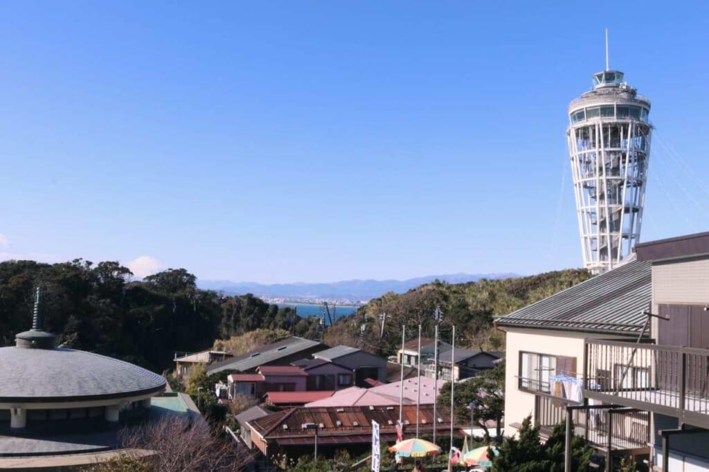 Panorama dall'isola di Enoshima
