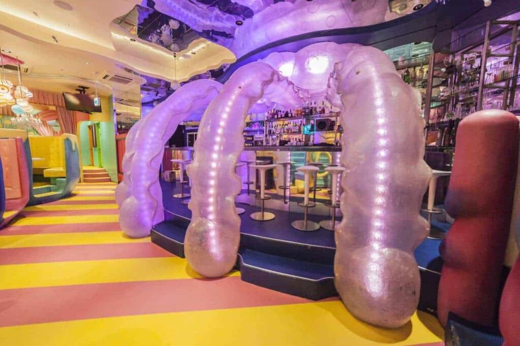 Tentacoli di medusa al Bar Experiment