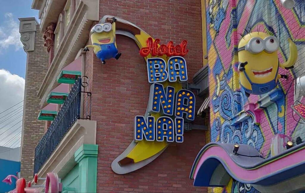 Hotel dei Minion agli Universal Studios Japan