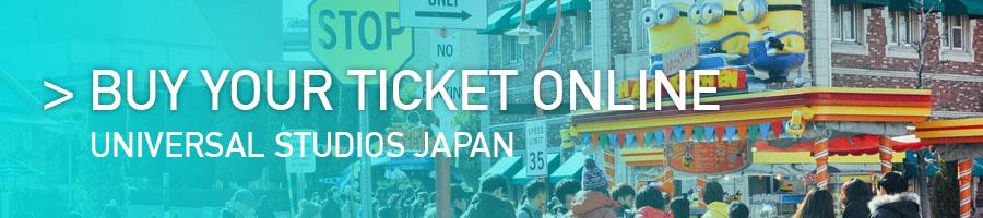 Banner acquisto biglietti Universal Studios japan