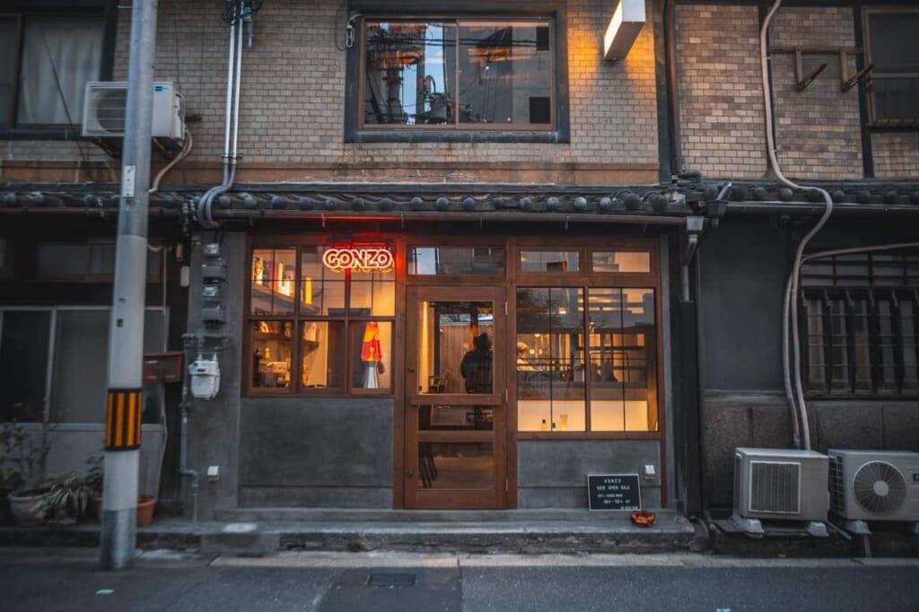 Entrata di un locale a Nakazakicho, Osaka