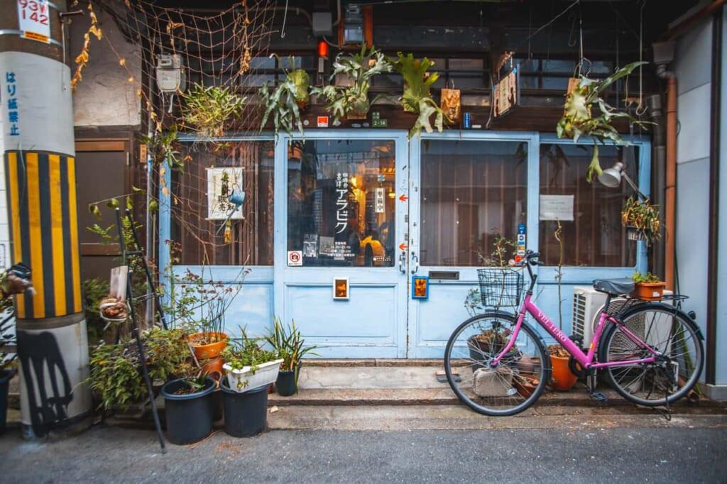 Entrata del Cafe Arabiq a Nakazakicho