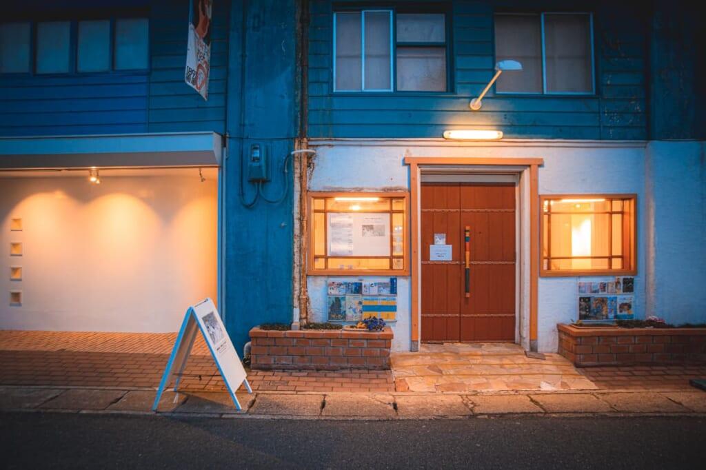 Esterno della galleria d'arte Irorimura a Nakazakicho