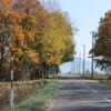 Tratto di strada tra il Monte Mokoto e Koshimizu
