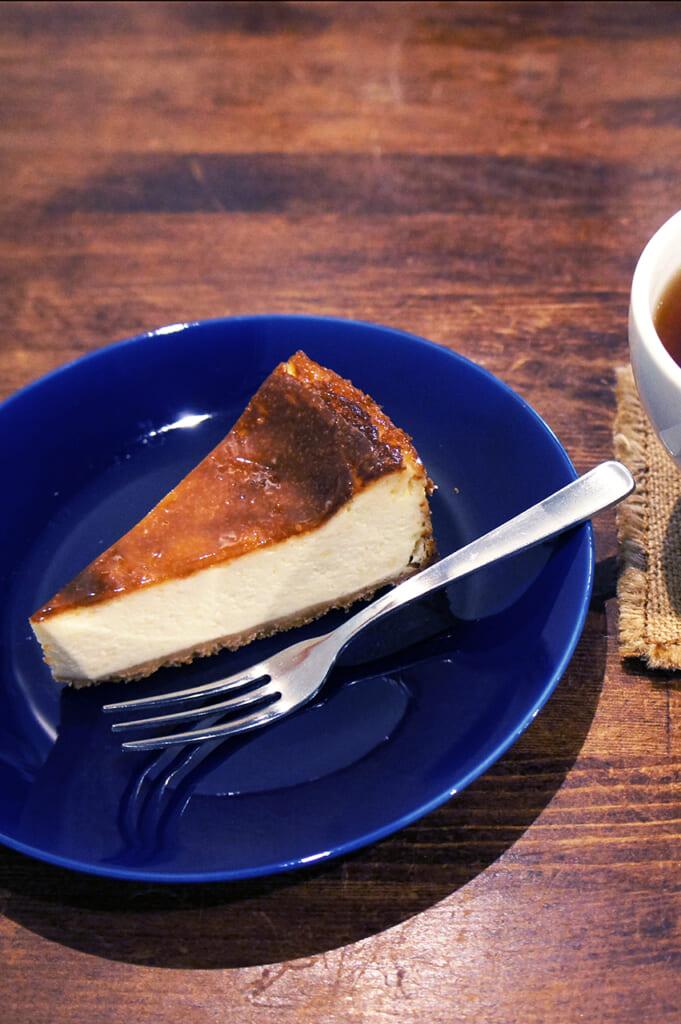 Una fetta di cheesecake
