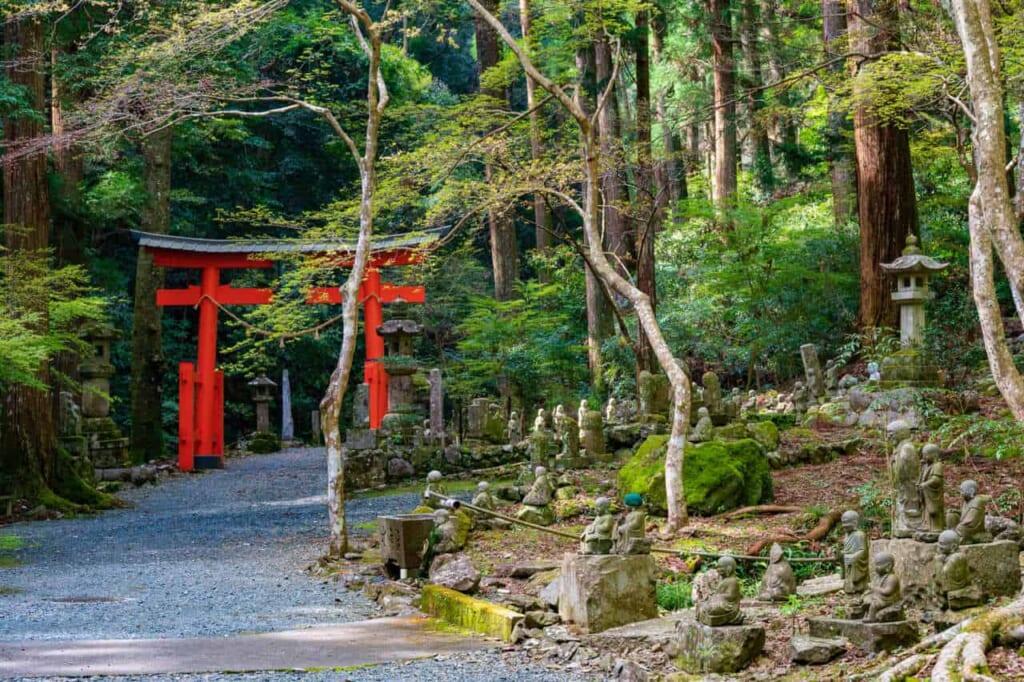 Sentiero per il tempio Hoko-ji