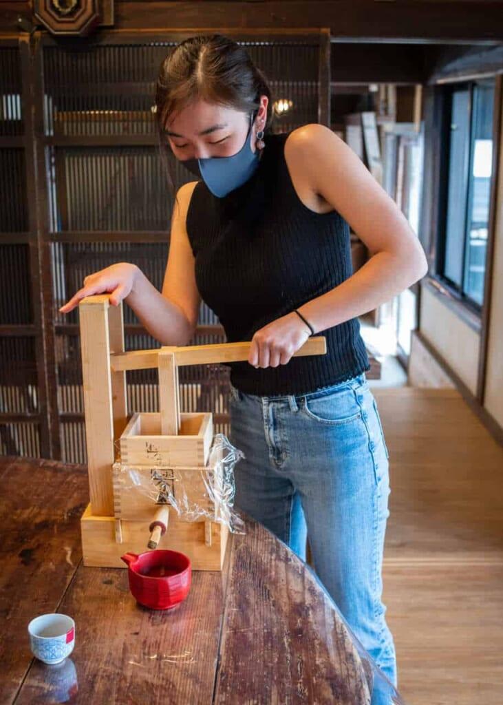 Estrazione della salsa di soia