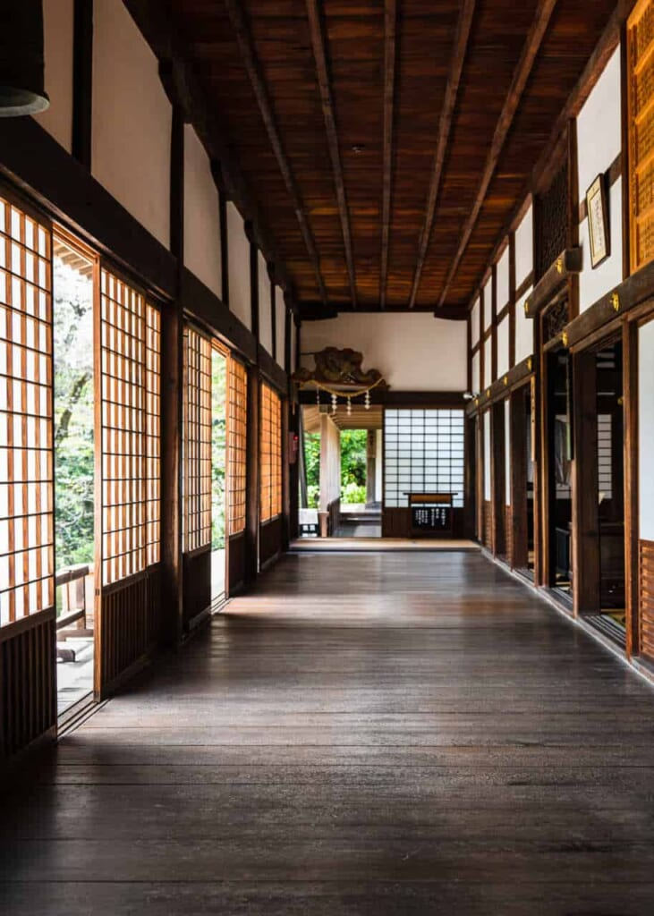 Interno del tempio Ryotan-ji