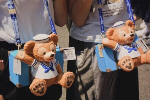 Contenitori per popcorn a forma di Duffy, mascotte Disney