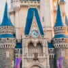 Dettagli del castello di Cenerentola a Tokyo Disneyland