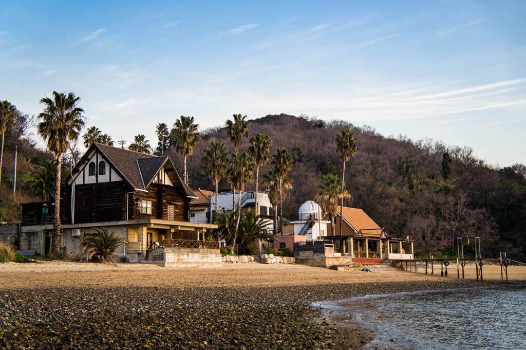 L'hotel Santora che si affaccia sul mare