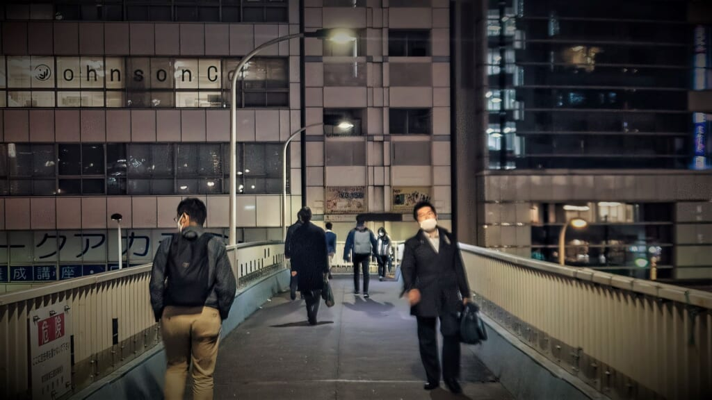 Passaggio pedonale Shintoshin Bridge