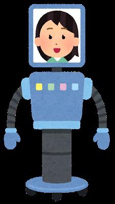 Illustrazione di un robot femminile