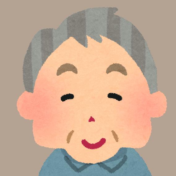 Illustrazione di un signore anziano