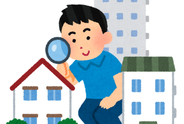 Illustrazione che rappresenta un ragazzo che sta cercando casa